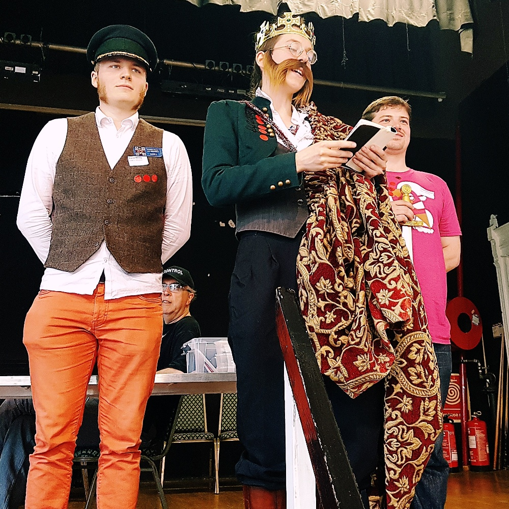 King of Prussia in an alternative universe version of 1866 And All That megagame