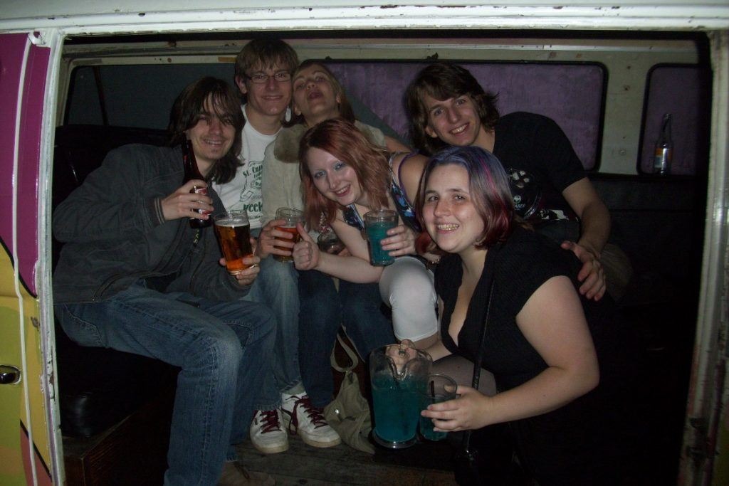 A night out at uni in 2010 - 2010s in photos