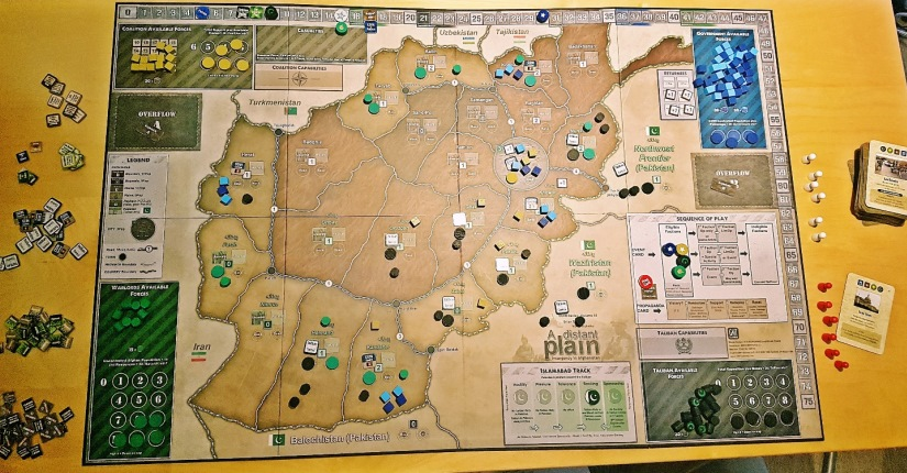 A Distant Plain board game review