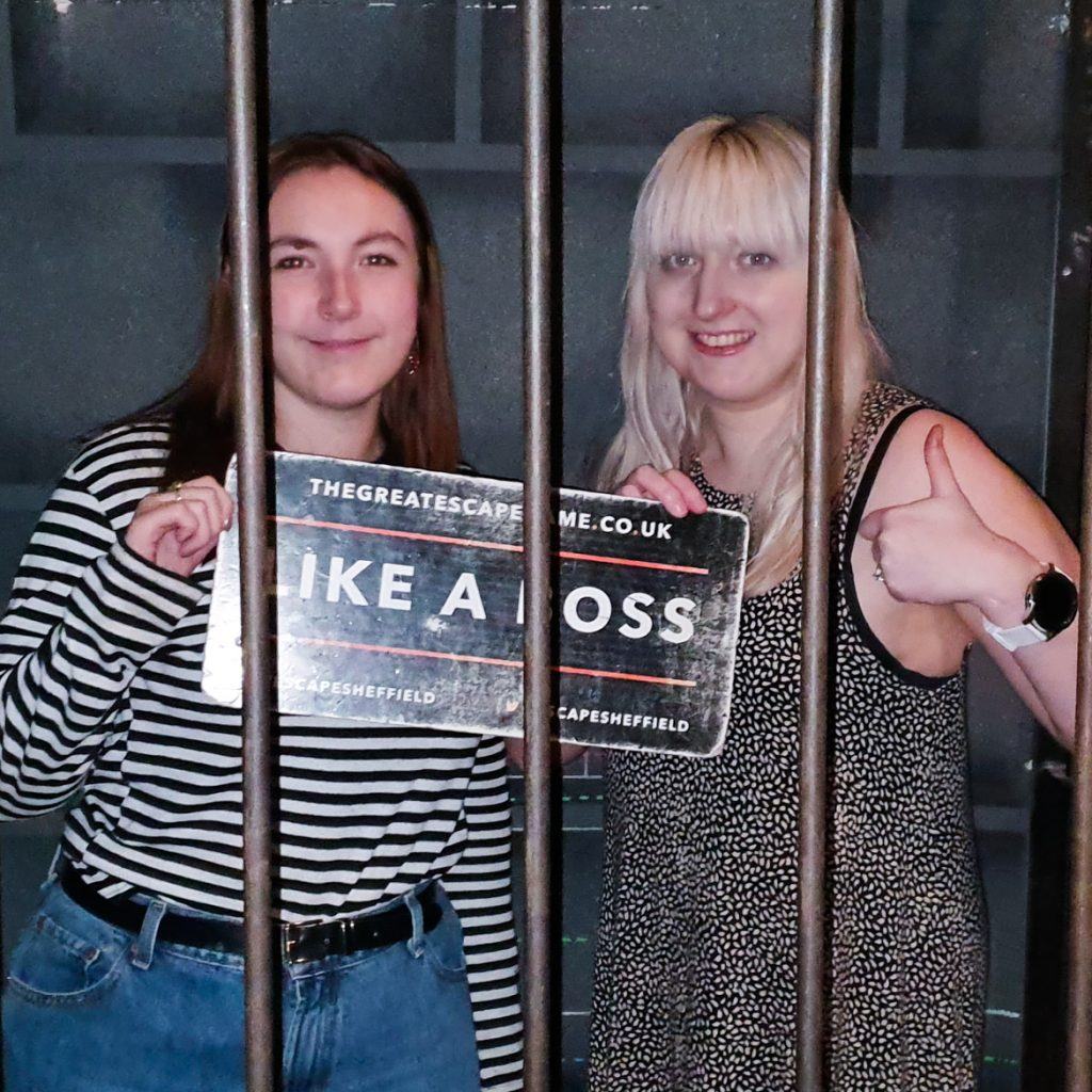 Success photo - Alcatraz 2.0 at The Great Escape Game, Sheffield escape room review by BeckyBecky Blogs