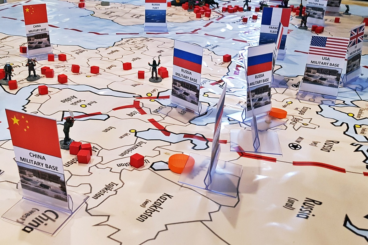 Russia and its neighbours - Arrival Megagame After Action Report by BeckyBecky Blogs