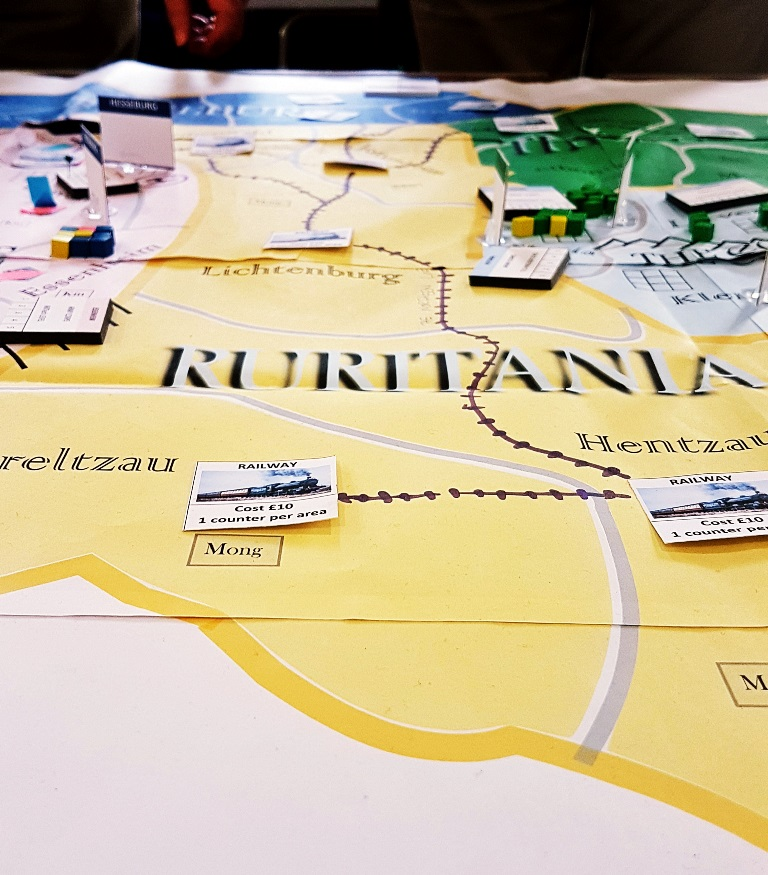 Ruritania's railway - Barricades and Borders After Action Report by BeckyBecky Blogs