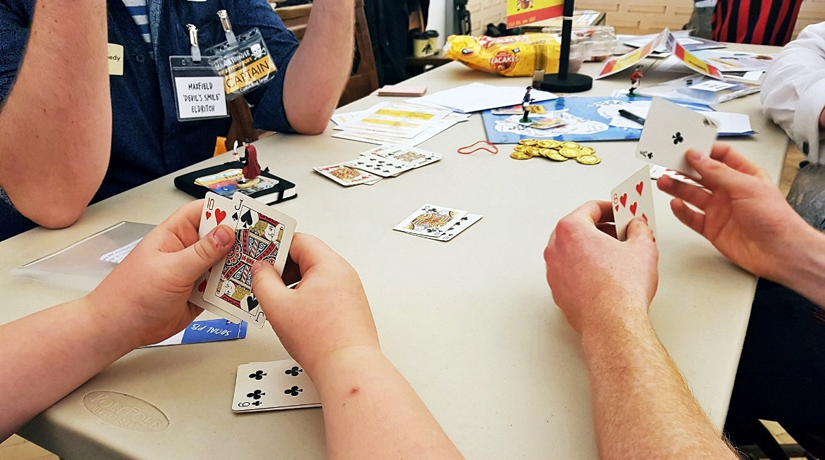 A game of Slippery Jack - Blood and Thunder Megagame After Action Report by BeckyBecky Blogs