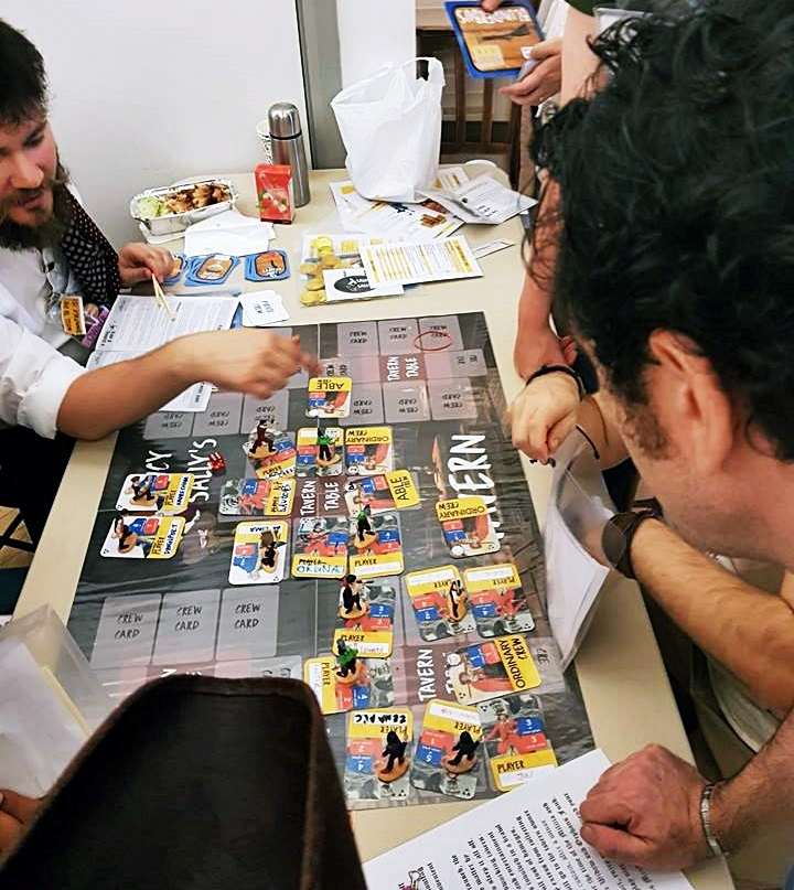 A tavern brawl - Blood and Thunder Megagame After Action Report by BeckyBecky Blogs