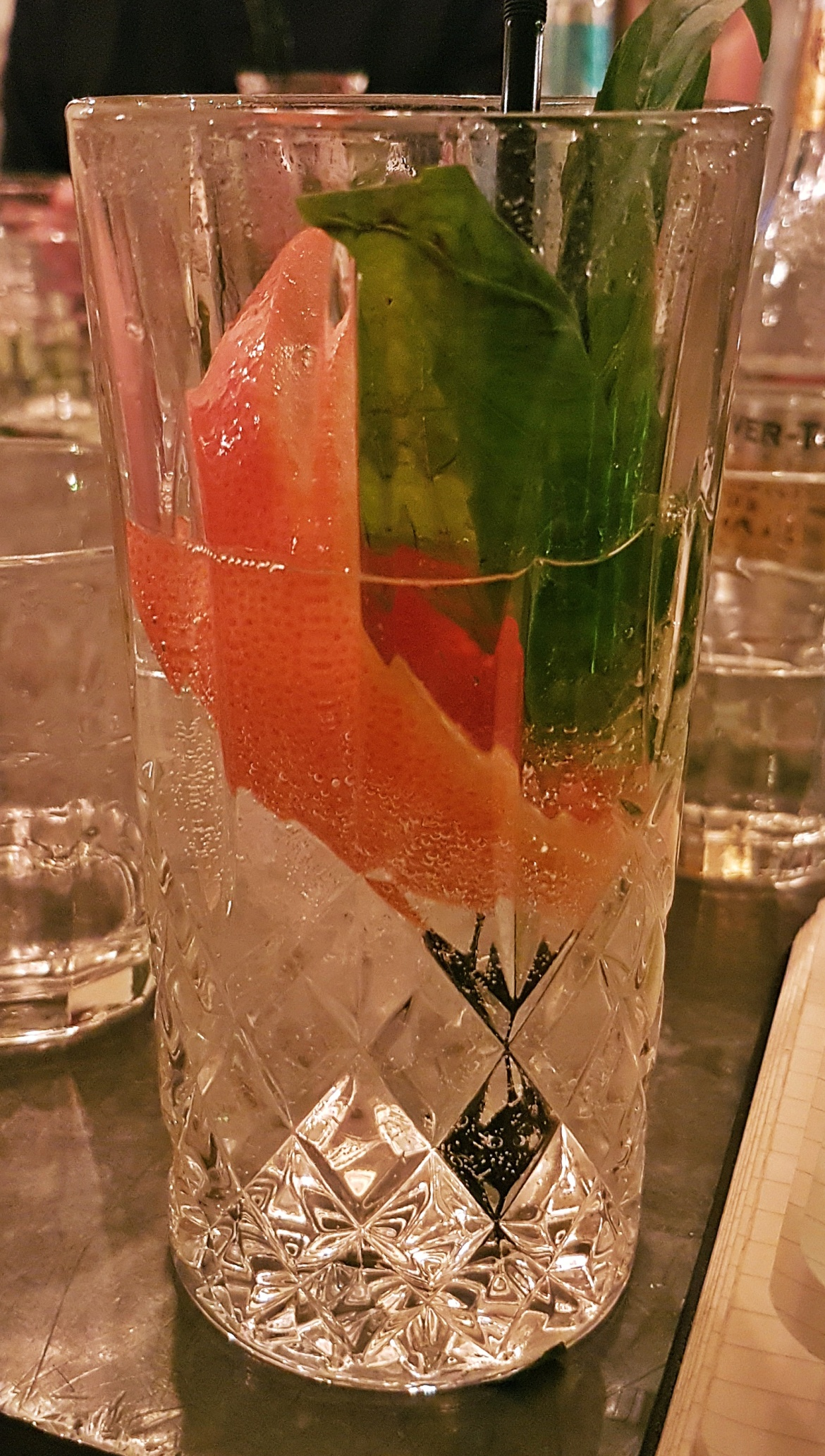 Langley's No. 8 gin perfect serve - Gin Masterclass at the Botanist Leeds, review by BeckyBecky Blogs