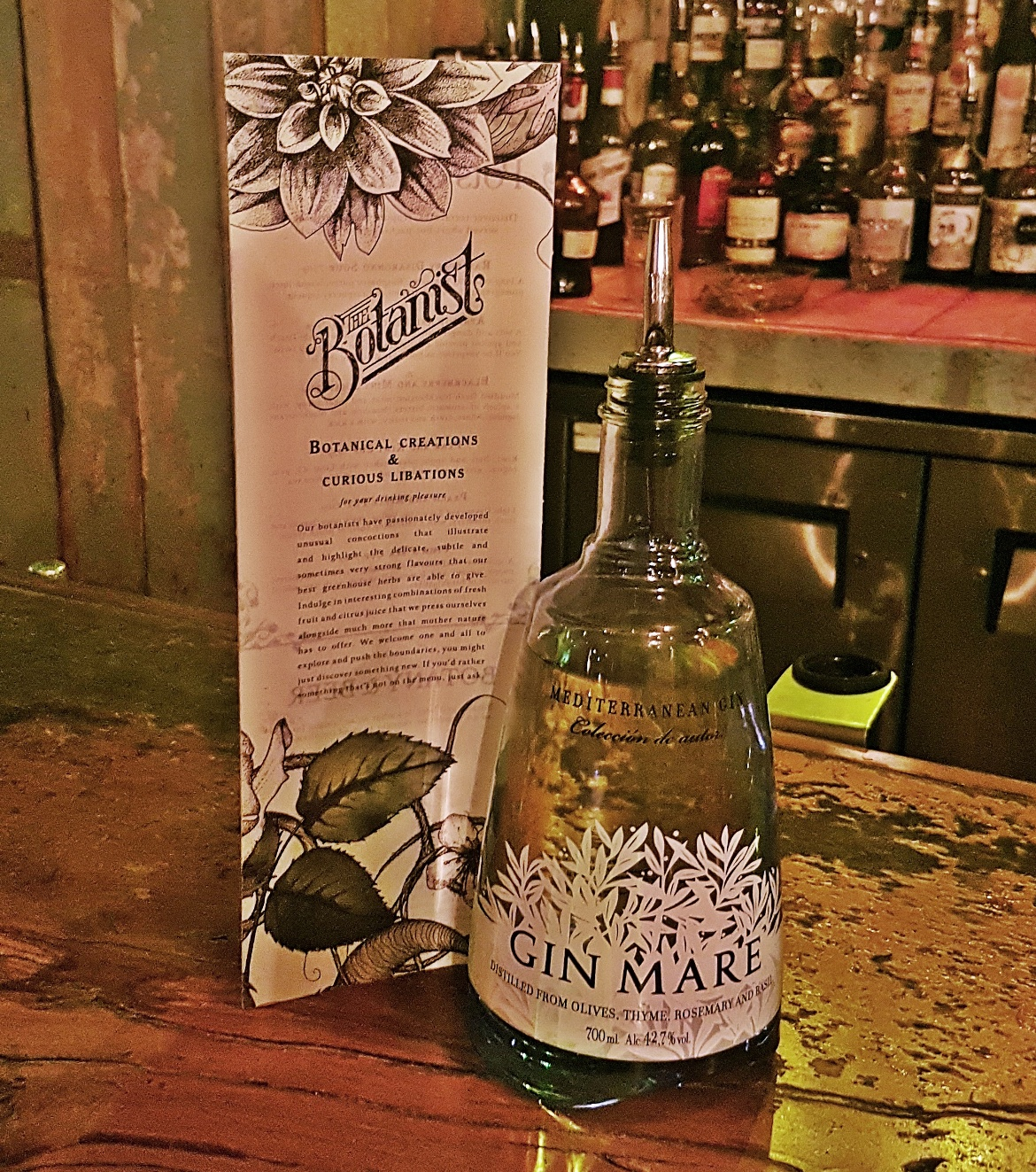 Gin Mare - Gin Masterclass at the Botanist Leeds, review by BeckyBecky Blogs