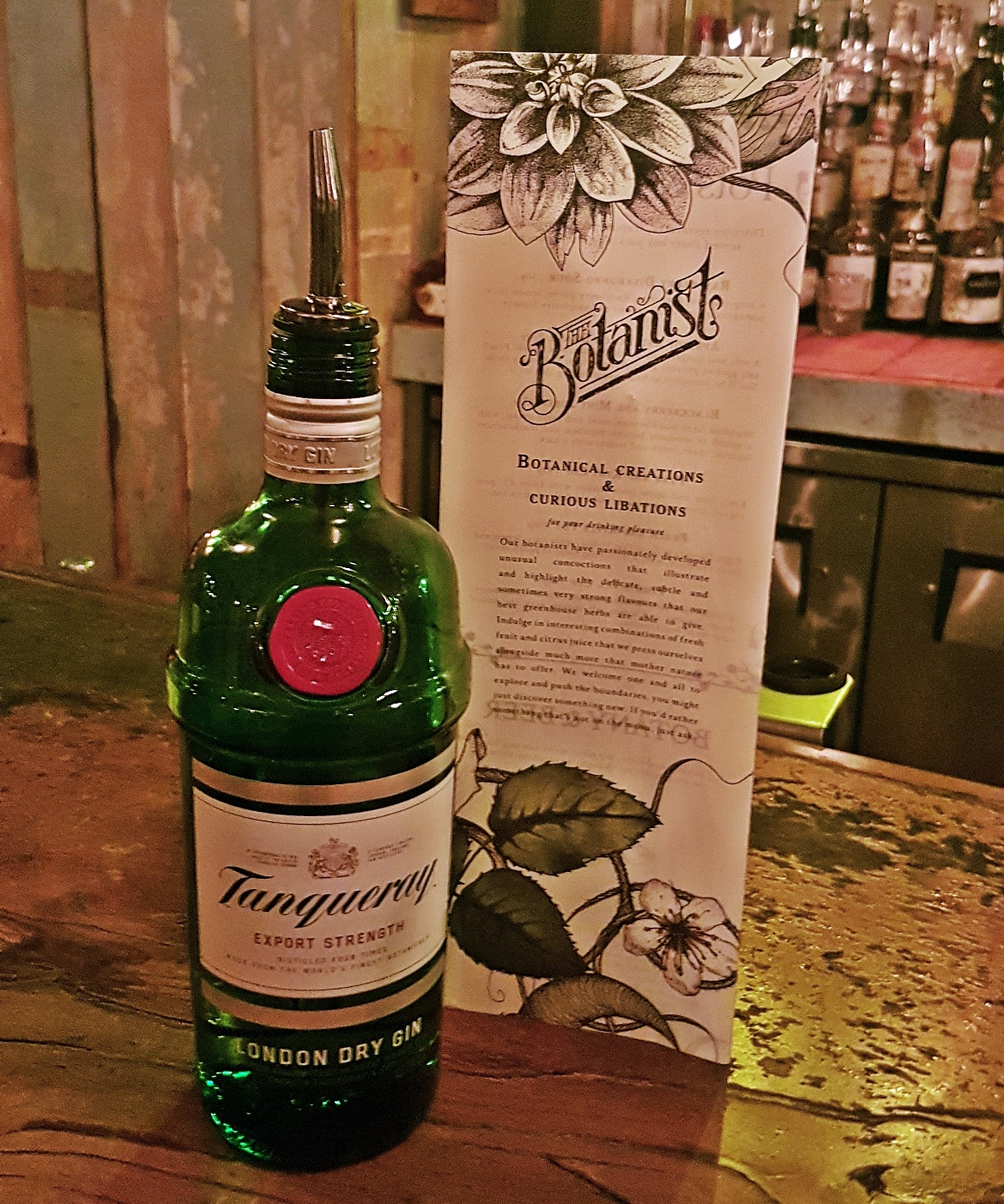 Tanqueray London Dry Gin - Gin Masterclass at the Botanist Leeds, review by BeckyBecky Blogs