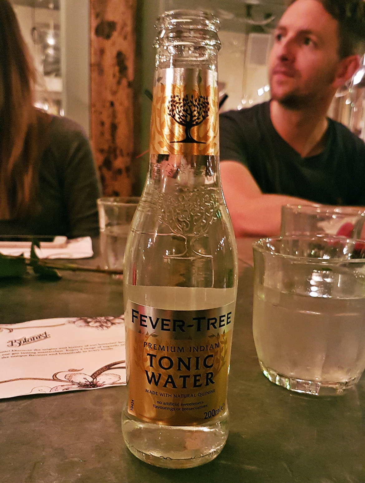 Fevertree tonic - Gin Masterclass at the Botanist Leeds, review by BeckyBecky Blogs