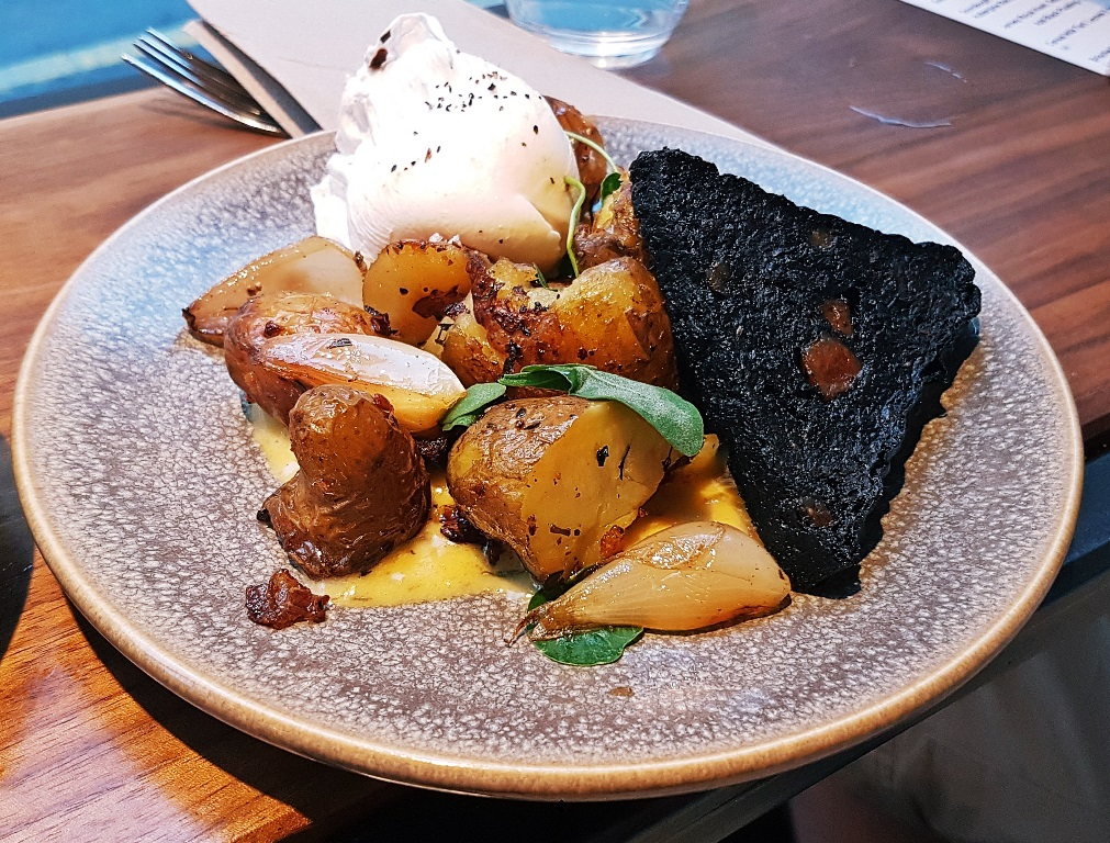 Hash with black pudding - Breakfast For Dinner at Laynes Espresso, LIF review by BeckyBecky Blogs