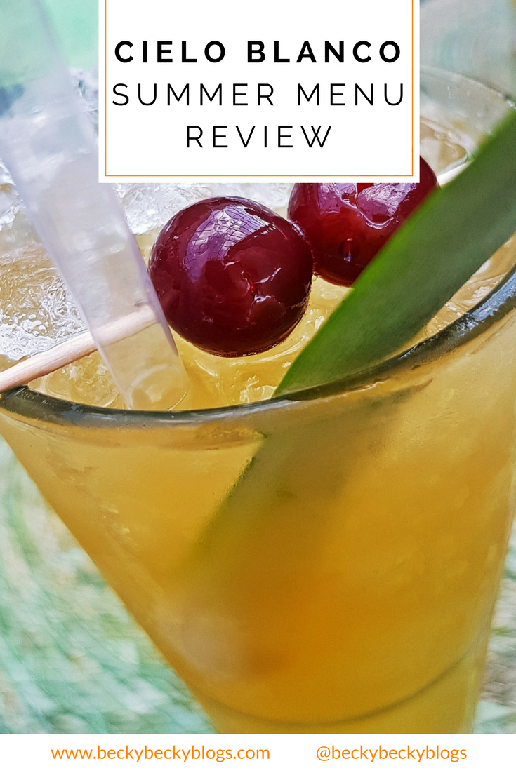 Cielo Blanco Social Summers, review by BeckyBecky Blogs