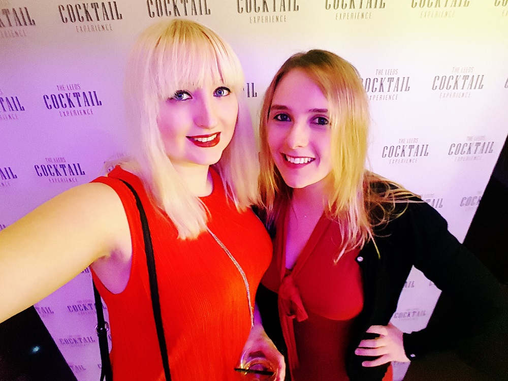 Selfies at the Cocktail Experience Leeds - Review by BeckyBecky Blogs