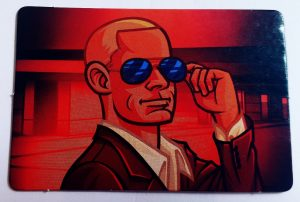 Codenames tabletop card game double-agent