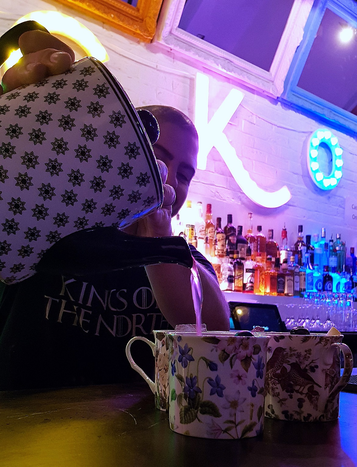 Spiced Berry Tea - Cuckoo, the newest cocktail and pizza bar on Call Lane in Leeds - Bar Review by BeckyBecky Blogs