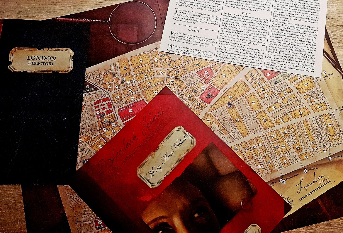 Sherlock Holmes Consulting Detective, the Jack the Ripper cases - December Monthly Recap by BeckyBecky Blogs