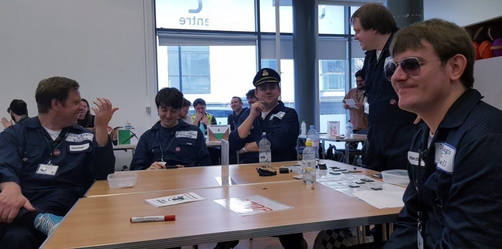 Aegis looking annoyed - Den of Wolves megagame after action report by BeckyBecky Blogs