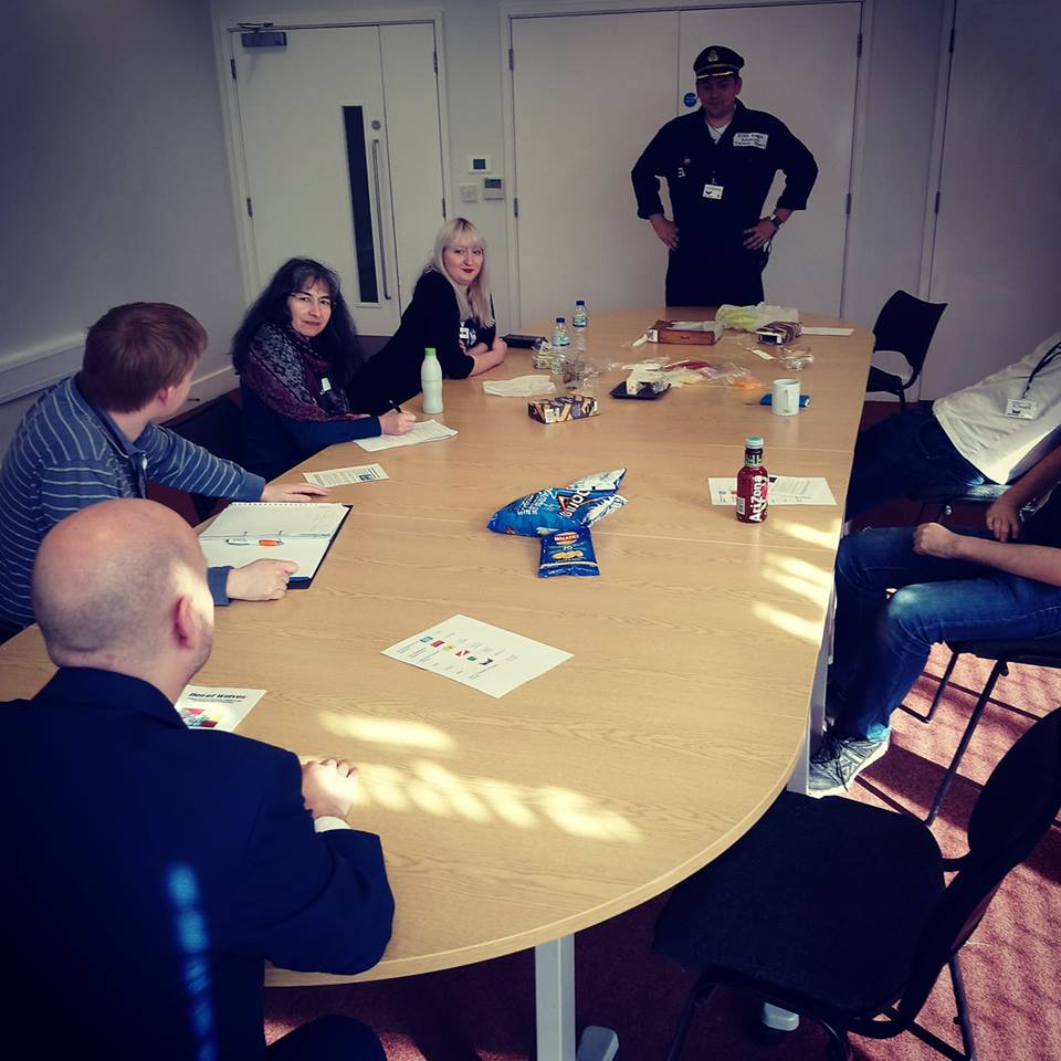 Admiral at the Council - Den of Wolves megagame after action report by BeckyBecky Blogs
