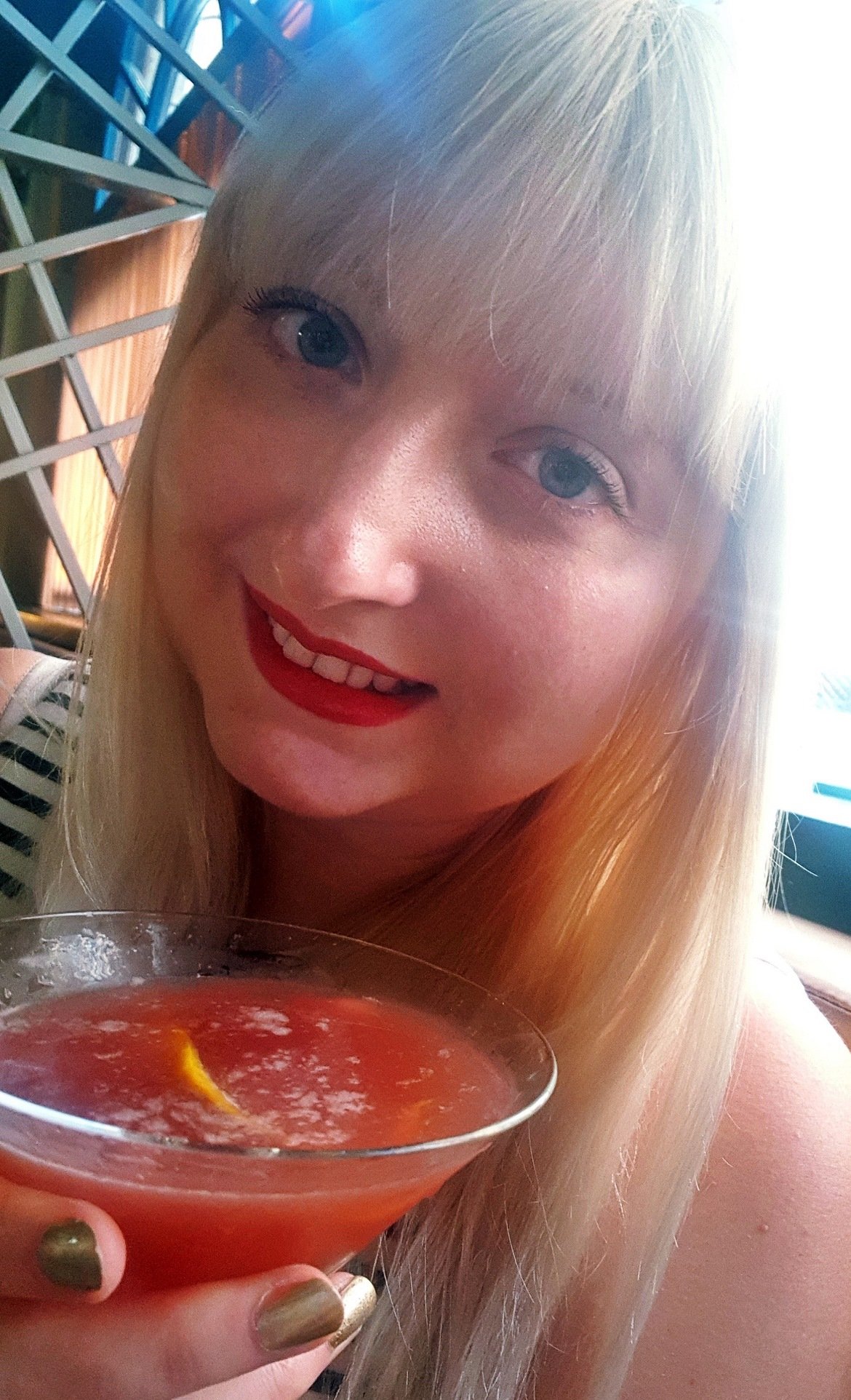 Me and my martini- Bottomless Brunch at Dirty Martini, review by BeckyBecky Blogs