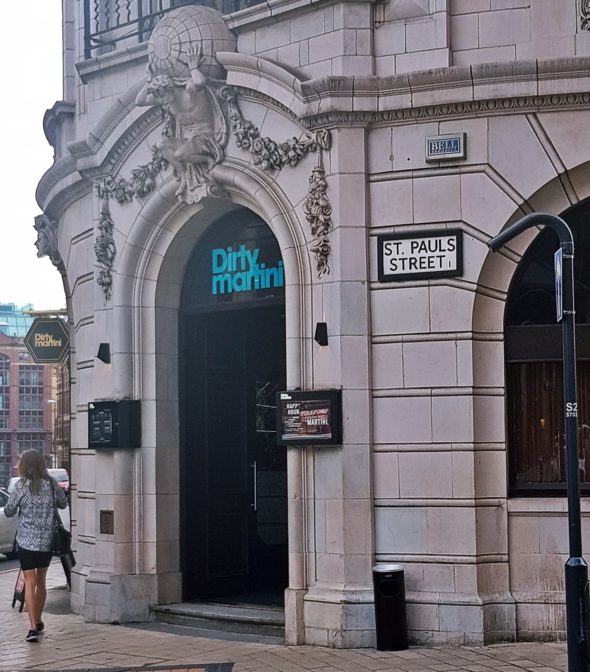 Exterior of Dirty Martini - Bottomless Brunch at Dirty Martini, review by BeckyBecky Blogs