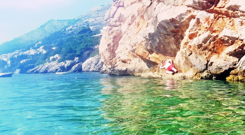 Tim at Sveti Jakov beach - Croatia in Photographs by BeckyBecky Blogs