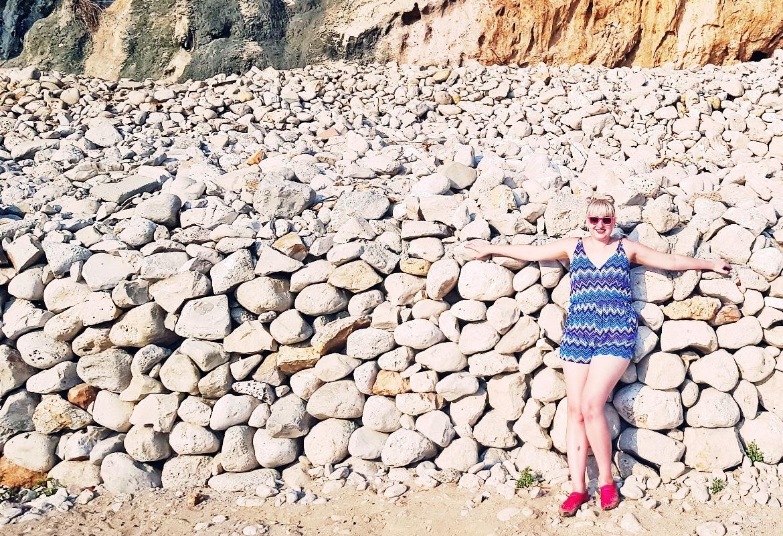 Rocks at Sveti Jakov beach - Croatia in Photographs by BeckyBecky Blogs