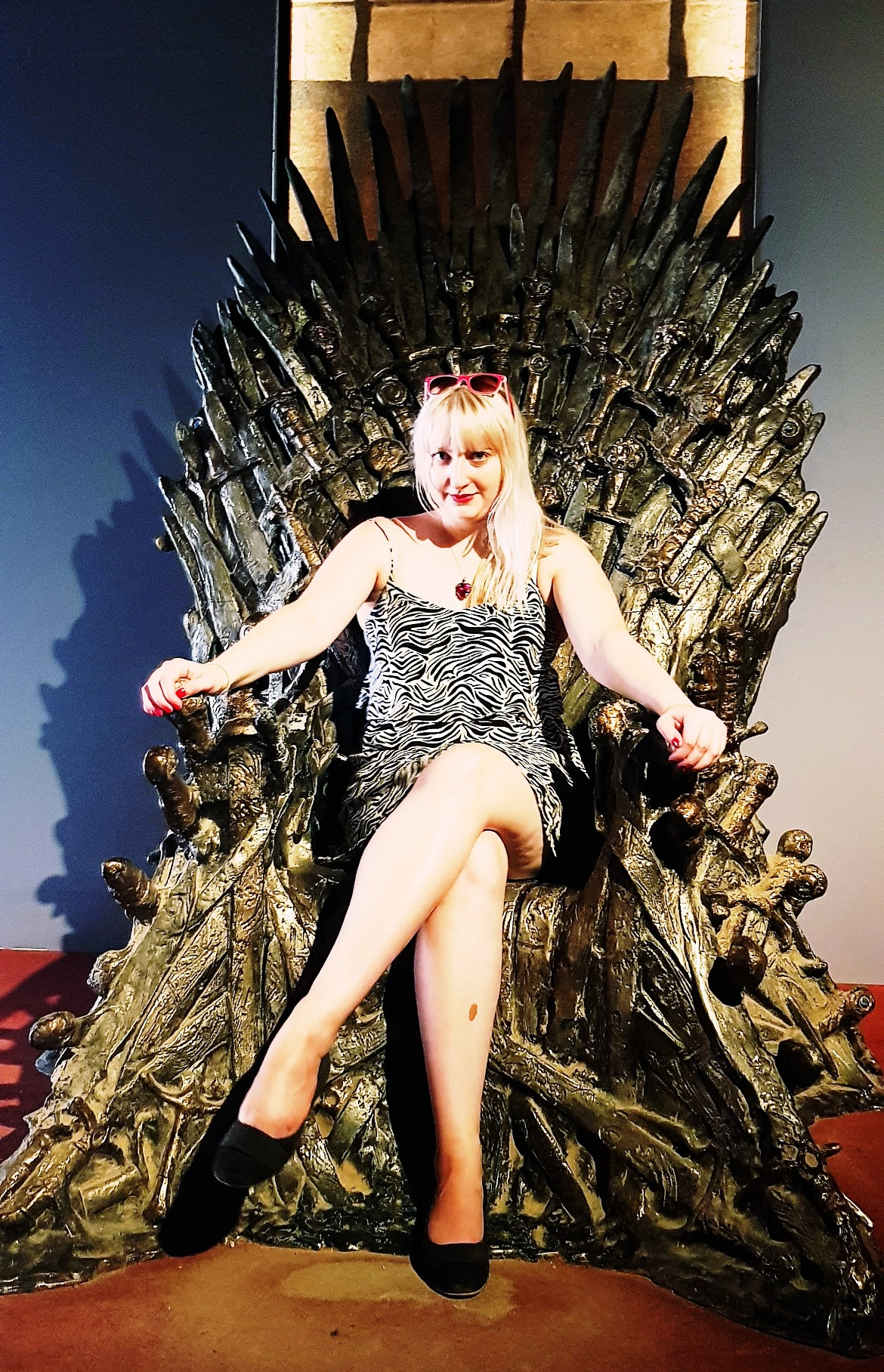Sitting the Iron Throne on Lokrum Island - Croatia in Photographs by BeckyBecky Blogs