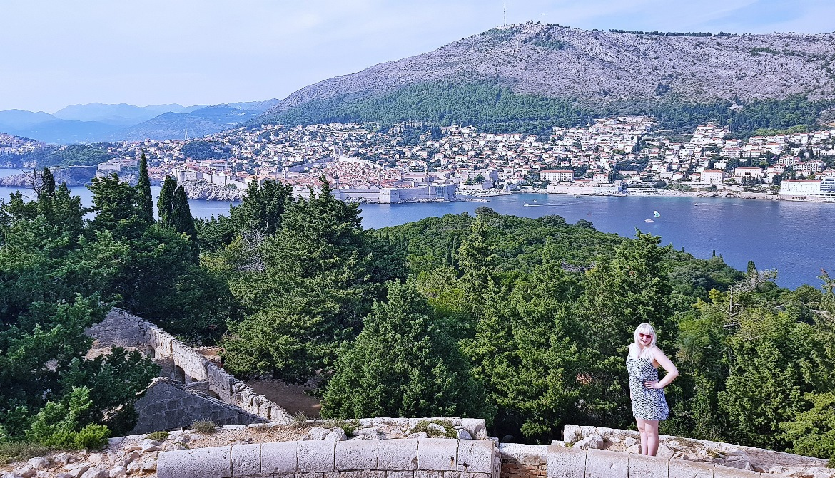 View back to Dubrovnik from Lokrum - Sightseeing in Dubrovnik, Croatia - Top Travel Tips by BeckyBecky Blogs