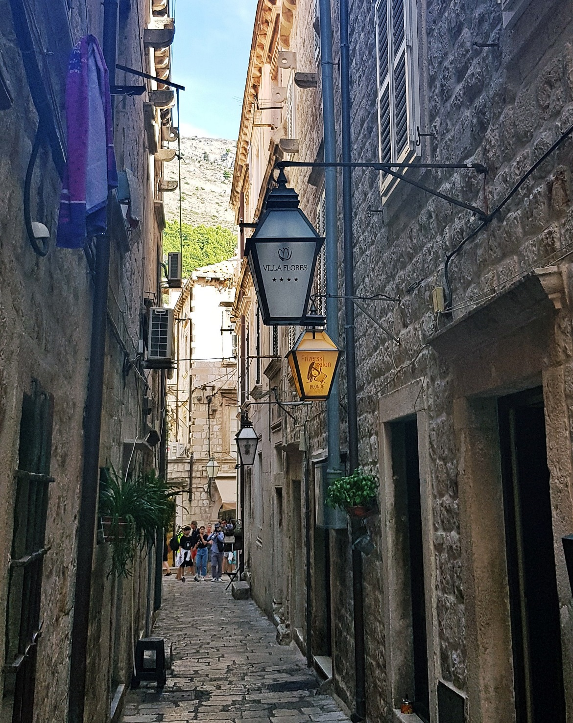 Old Town street - Sightseeing in Dubrovnik, Croatia - Top Travel Tips by BeckyBecky Blogs