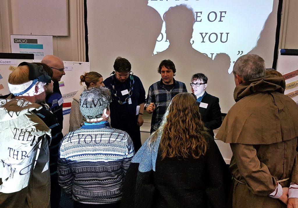 The maesters meeting at Everybody Dies Harder - How to Write a Megagame, Part 6, Secret Plots
