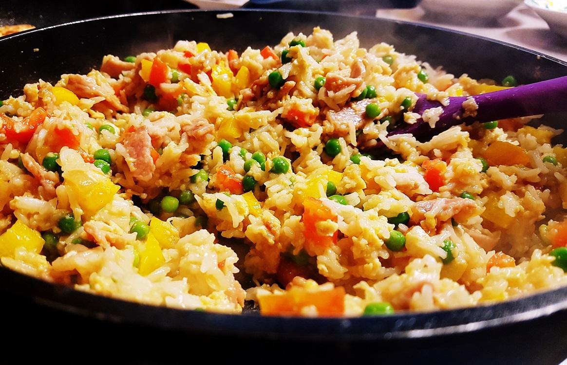 Egg fried rice - recipe by BeckyBecky Blogs