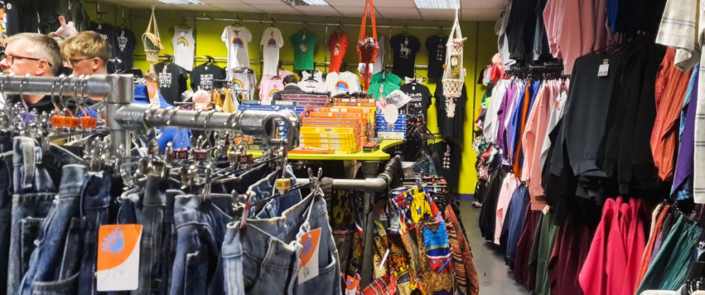 Clothing shop in Affleck's - Exploring Manchester's geek scene with BeckyBecky Blogs