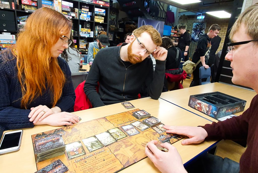 Playing Ascension at FanBoy 3 - February 2020 Monthly Recap by BeckyBecky Blogs