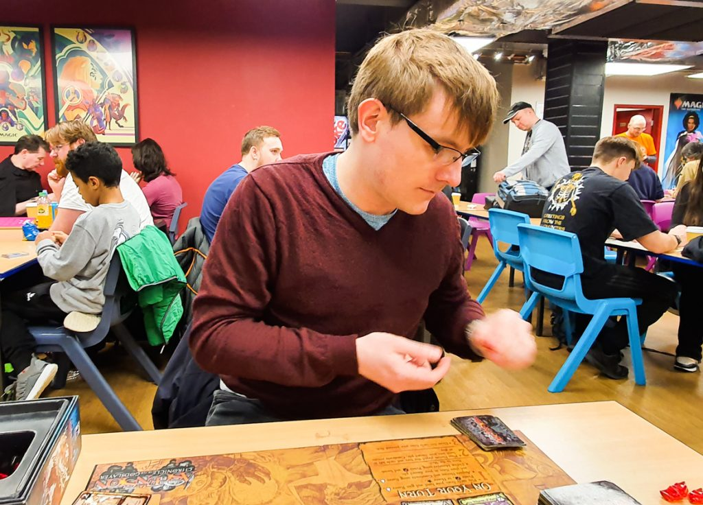 Playing Ascension at FanBoy 3 - Exploring Manchester's geek scene with BeckyBecky Blogs