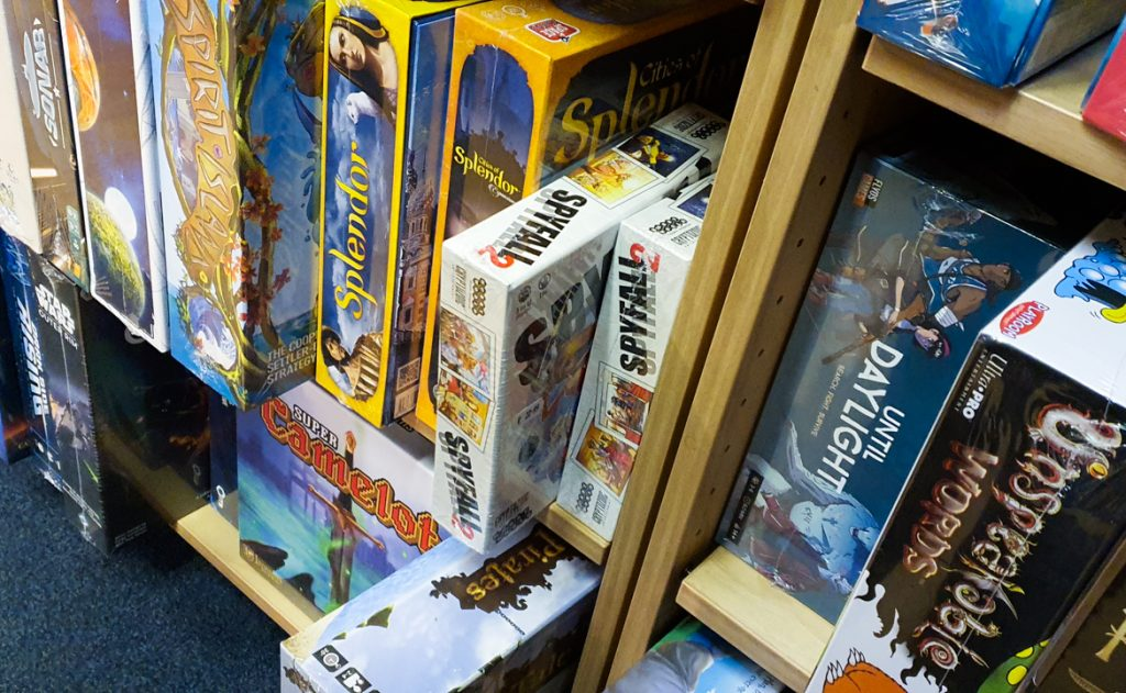 Board games in Travelling Man - Exploring Manchester's geek scene with BeckyBecky Blogs