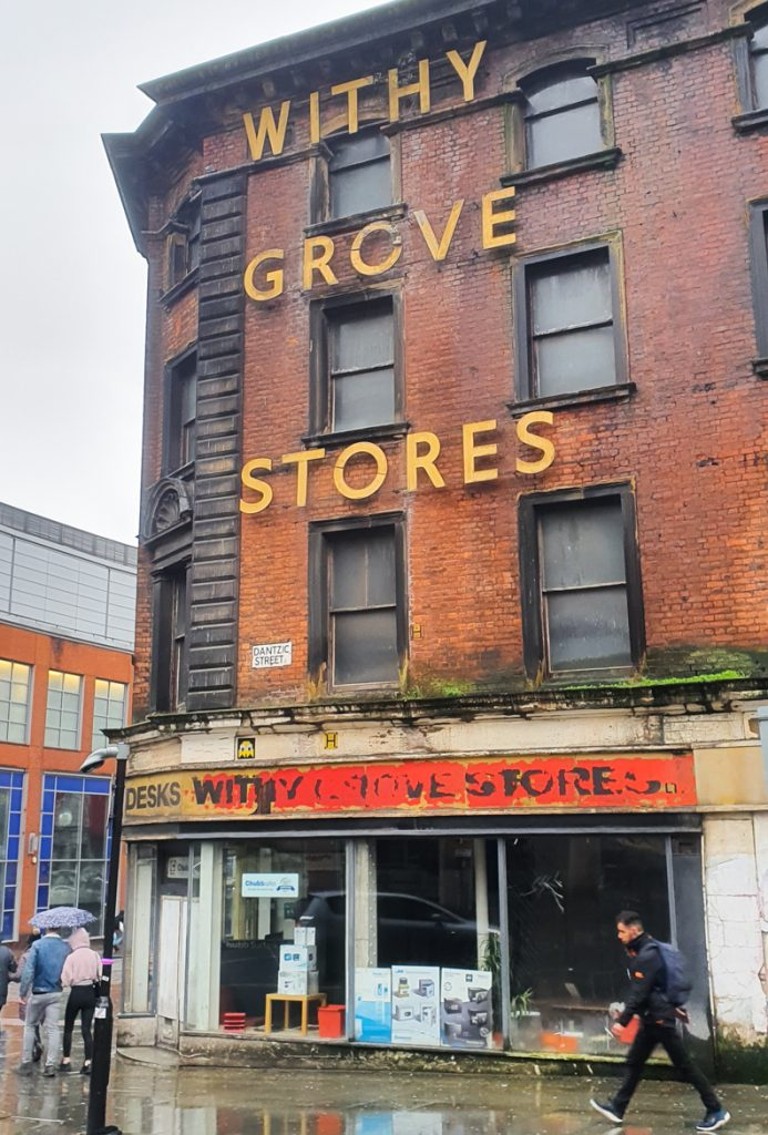 Dilapidated shop fronts -Exploring Manchester's geek scene with BeckyBecky Blogs