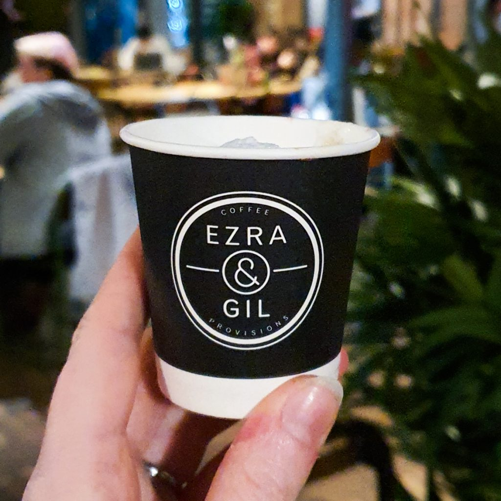 Espresso Macchiato at Ezra and Gil - Exploring Manchester's geek scene with BeckyBecky Blogs