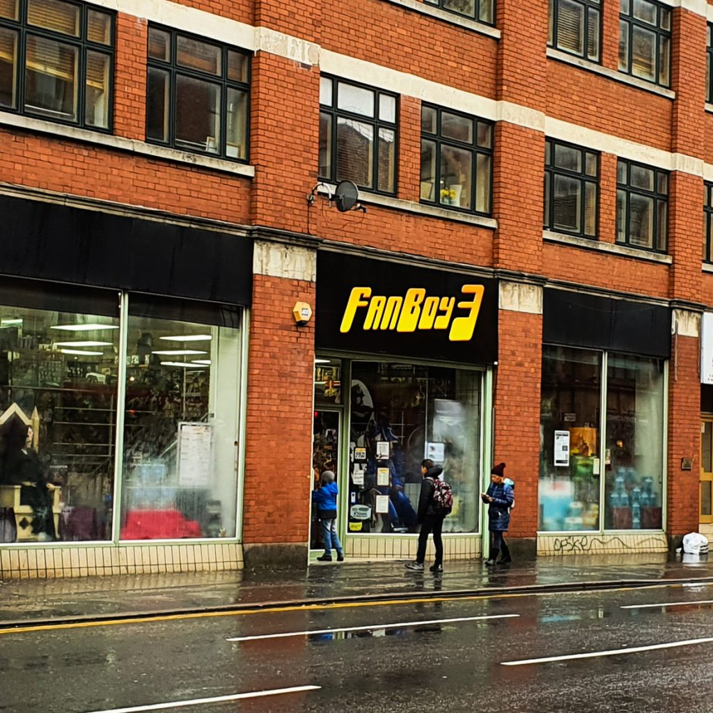 FanBoy 3 - Exploring Manchester's geek scene with BeckyBecky Blogs