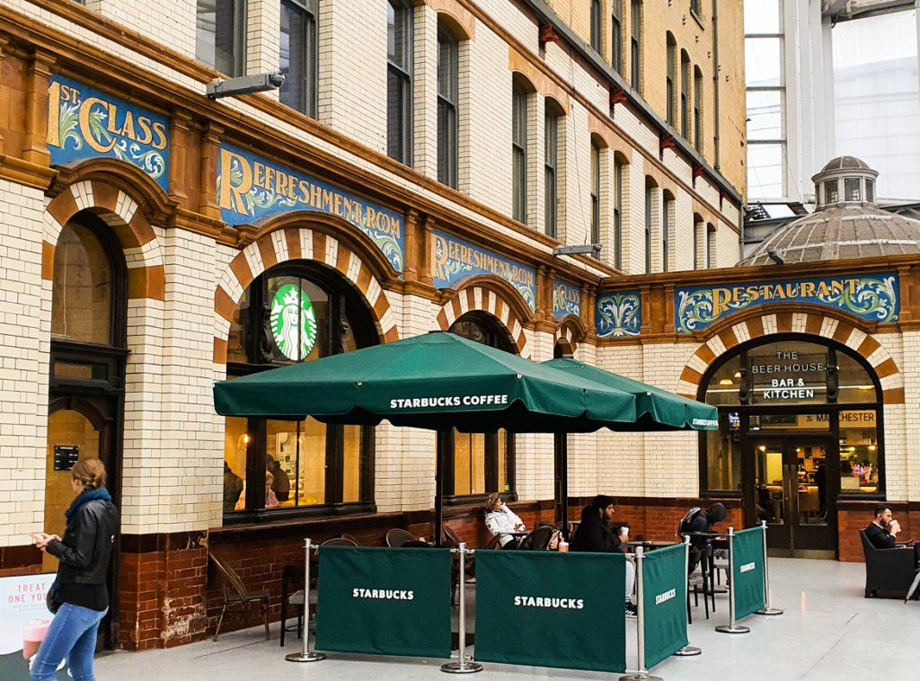 Manchester Victoria train station - Exploring Manchester's geek scene with BeckyBecky Blogs