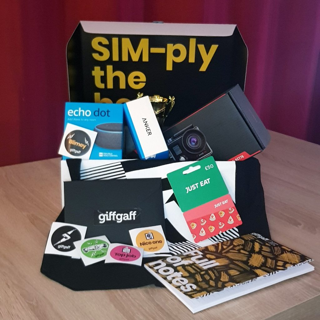 Goodies from giffgaff - Happy birthday feat board games and giffgaff by BeckyBecky Blogs