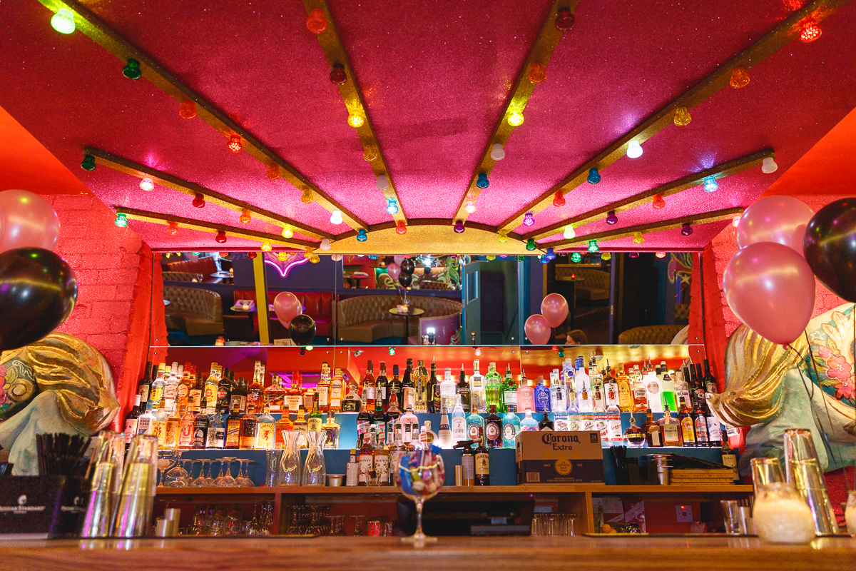 The Fairground Rooms bar- giffgaff gameplan's Spend or Save boardgame by BeckyBecky Blogs
