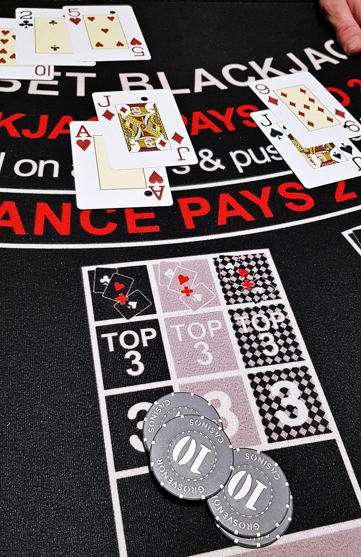 Blackjack - Grosvenor Casino Leeds review by BeckyBecky Blogs