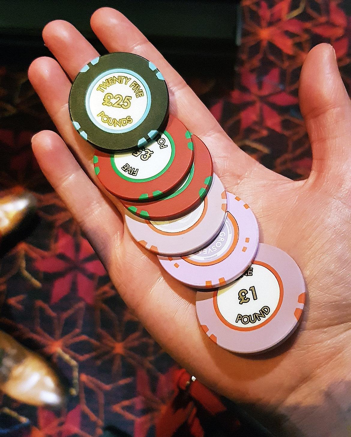 My winnings - Grosvenor Casino Leeds review by BeckyBecky Blogs