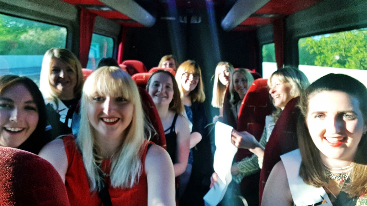 Taxi ride into Sheffield - How to throw a kickass hen party by BeckyBecky Blogs