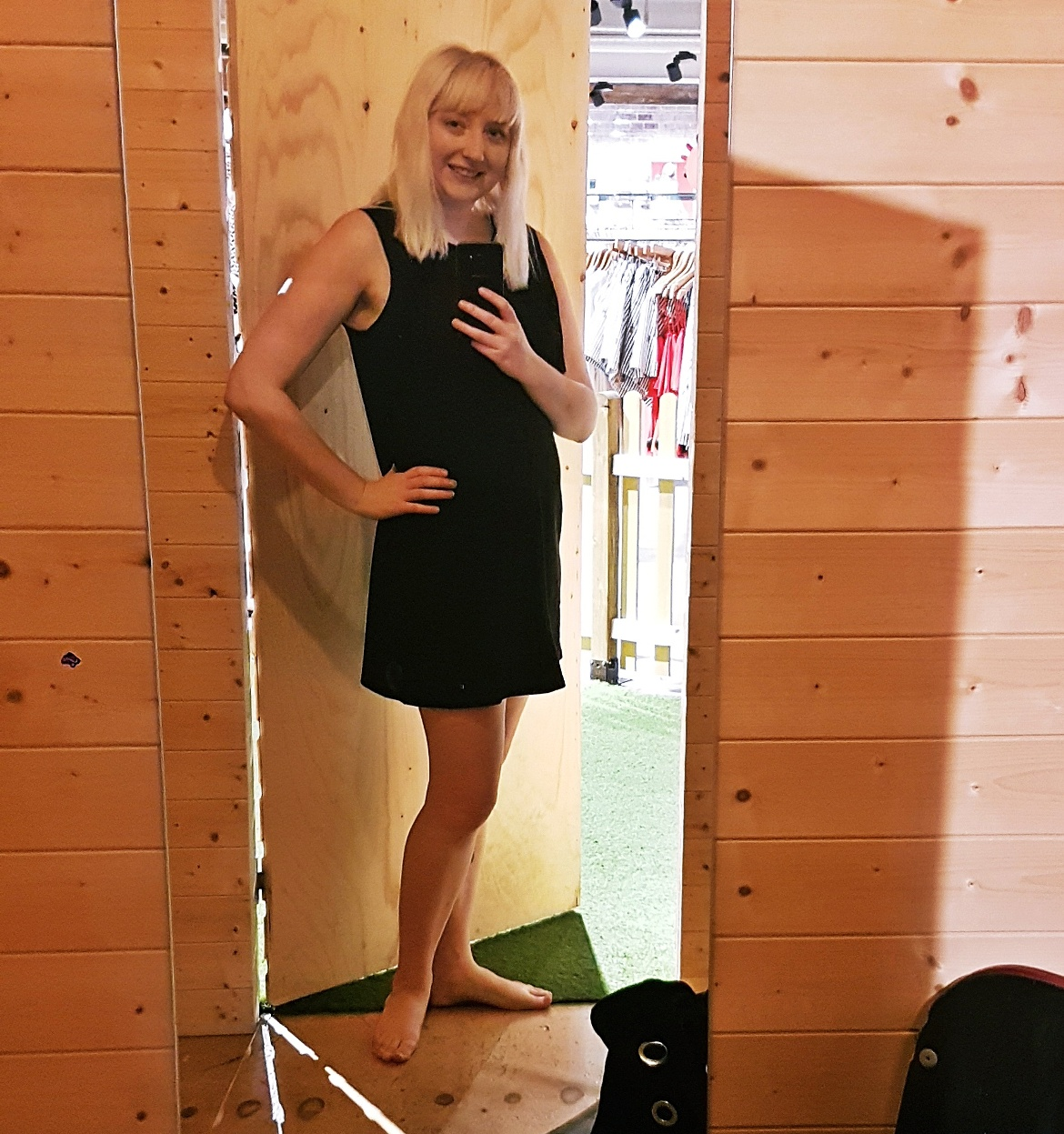 The tasselled black dress that I bought - Tune in with Joy the Store, Leeds shop review by BeckyBecky Blogs