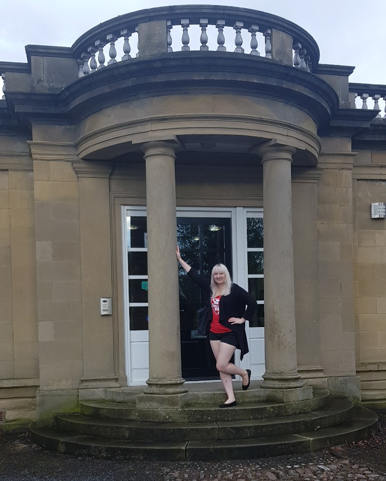 Outside South Lodge - Follow in my Footsteps by Kanyu Escape, Leeds escape room review by BeckyBecky Blogs