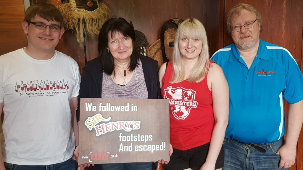 Success photo - Follow in my Footsteps by Kanyu Escape, Leeds escape room review by BeckyBecky Blogs