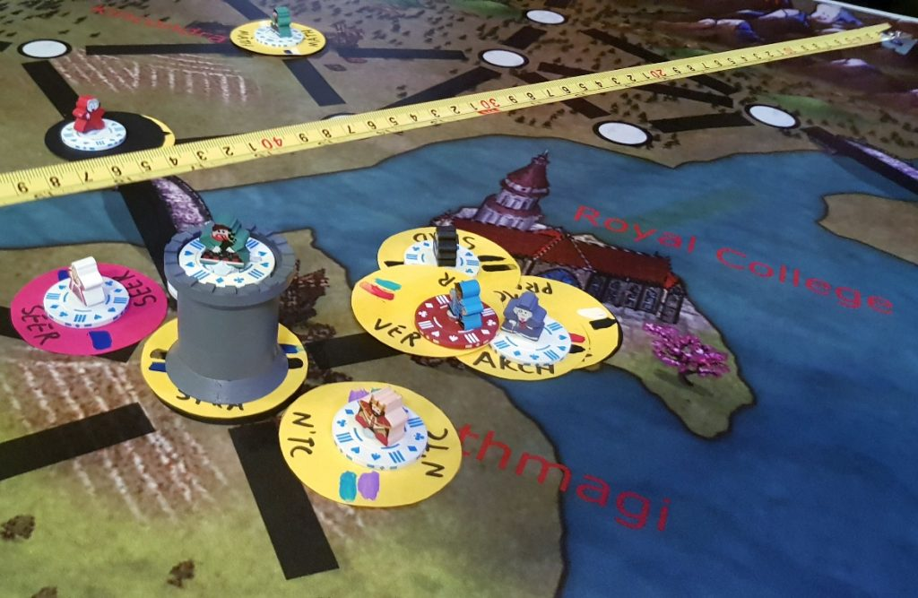Royal College - Kingdom of Seasons megagame report by BeckyBecky Blogs