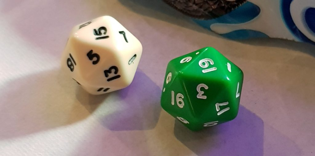 Lucky dice - Kingdom of Seasons megagame report by BeckyBecky Blogs