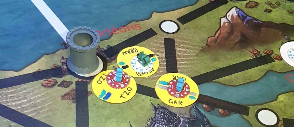 Held and L'Orleans - Kingdom of Seasons megagame report by BeckyBecky Blogs