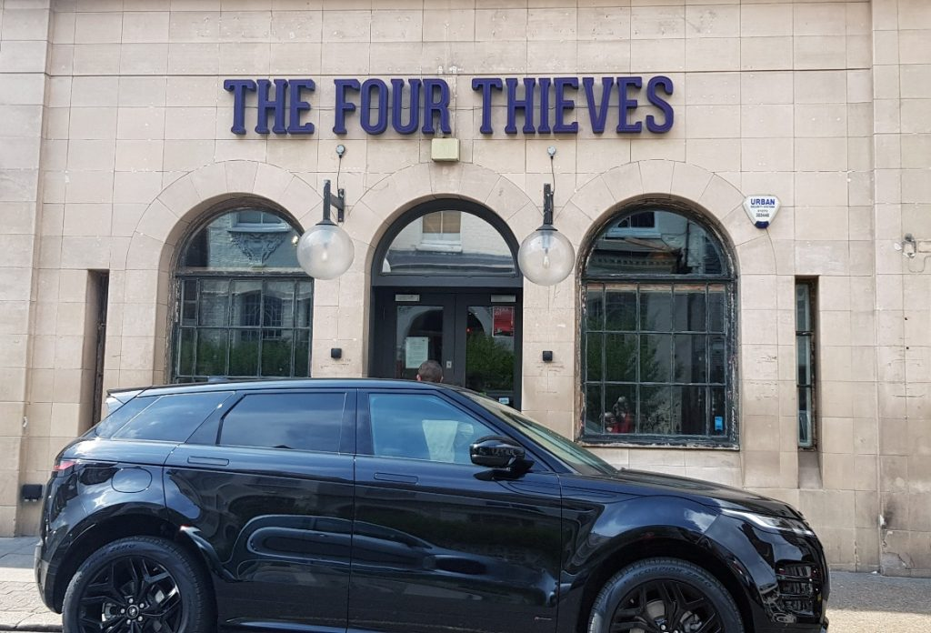 The Four Thieves - Lady Chastity's Reserve by Handmade Mysteries, London escape room review by BeckyBecky Blogs