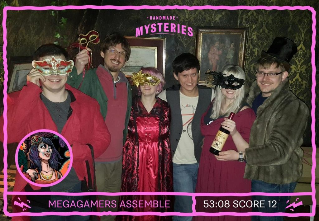 Success photo - Lady Chastity's Reserve by Handmade Mysteries, London escape room review by BeckyBecky Blogs